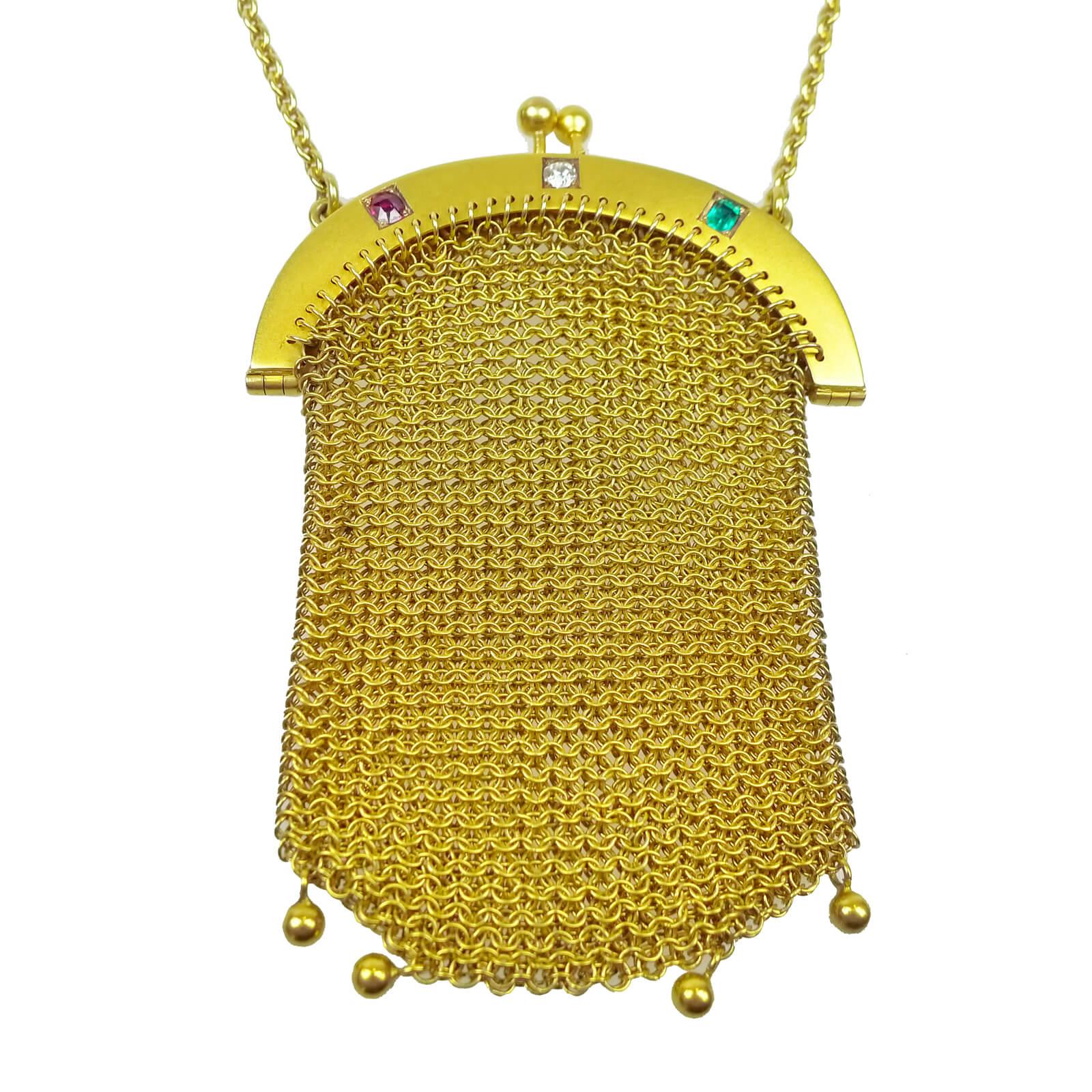 Gold Chain Purse