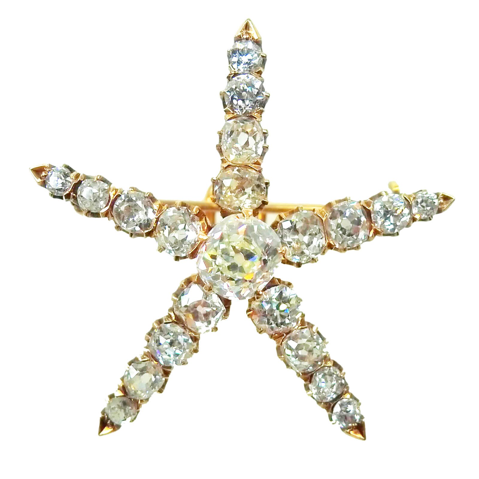 Star Diamond Pendant/Brooch