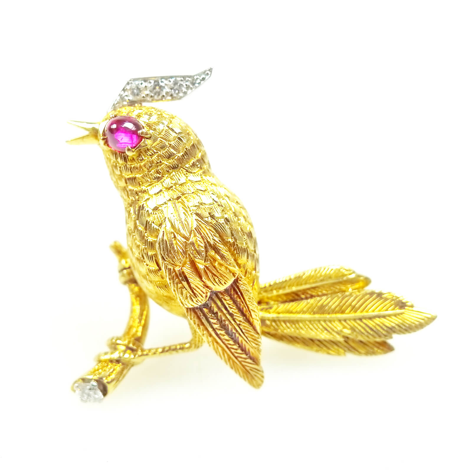 jewels enamel christies eco christie ruby bird brooch online s cartier and