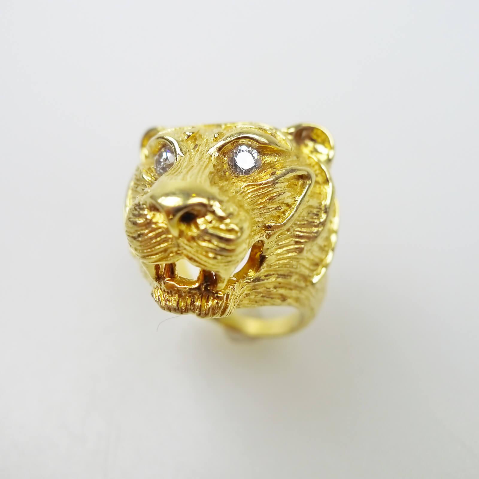 Lion's Head Ring, By Van Cleef