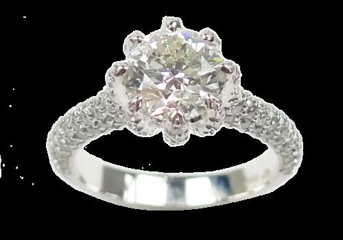 Brilliant-Cut Diamond Ring