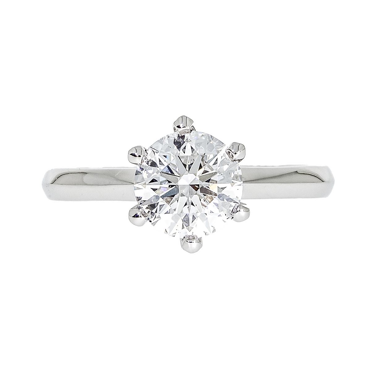 Brilliant-Cut Diamond Ring