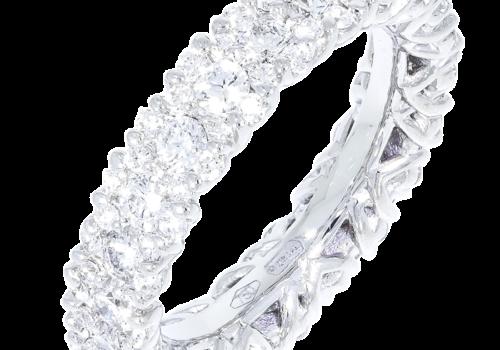 Round Brilliant Diamond Wedding Band
